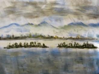 Ein Wintertag am See