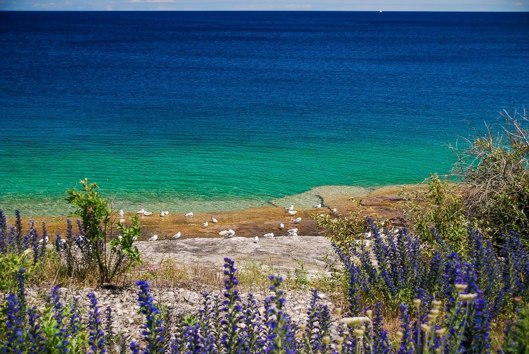 Lake Huron-Ontario-Canada