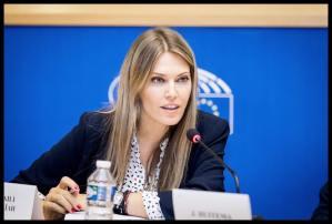 Παρέμβαση στην Επιτροπή Εξωτερικών του Ε.Κ. κατά την επίσκεψη του Υπ. Εξωτερικών των Σκοπίων Ν.Ντιμιτρόφ