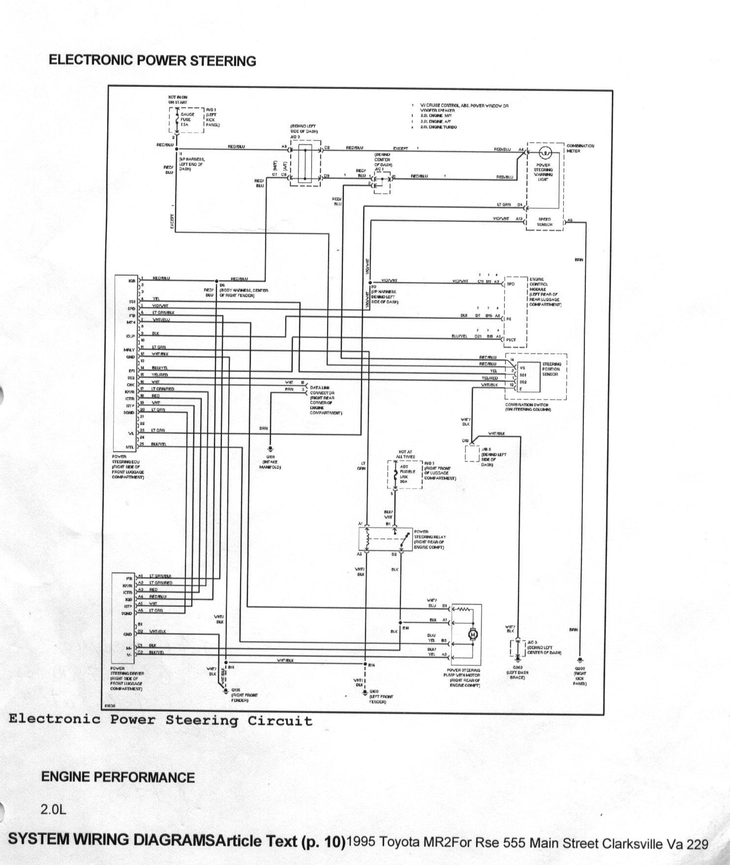 Toyota Mr2 Ecu Wiring Diagram