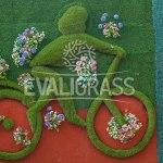 artificial grass wall decor