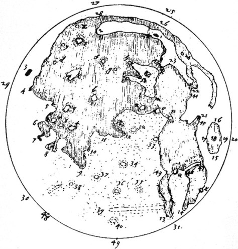 harriot moon map