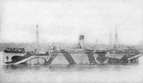 HMS Anselm eclissi 29 maggio 1919