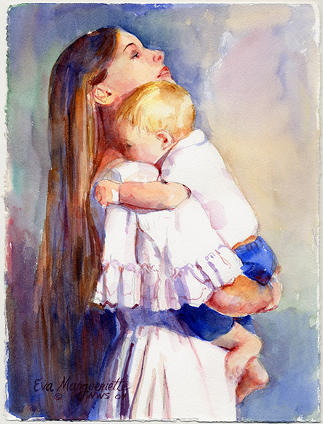 Mother&Child by Eva Margueriette