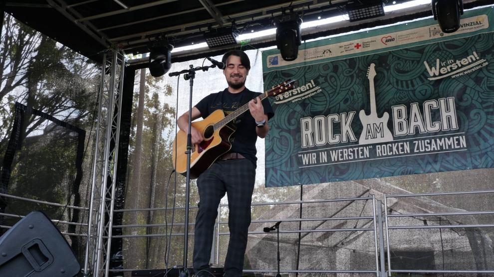 Evan Freyer bei Rock am Back 2021