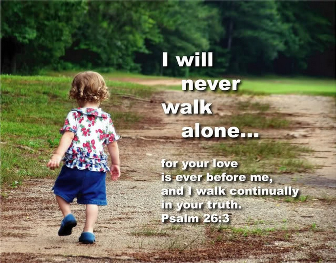 Image result for Psalm 26 3