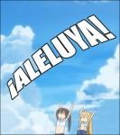 La palabra «Aleluya», término usado en nuestra sagrada eucaristía y por predicadores.