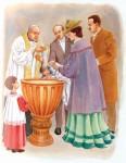 El sacramento del bautismo: expuesto de manera sencilla en Power Point