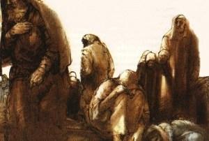 La palabra de Dios en voz y sentir de un laico: La adultera. ¿Quién te acusa? Audio mp3