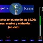 """Escúchanos en punto de las 10.00: Así hemos títulado esta sección para trasmitir en vivo por """"Evangeliza Radio León"""""""