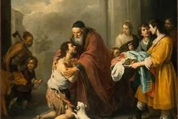 Derrochón y mendigo. San Lucas 15, 1-32.