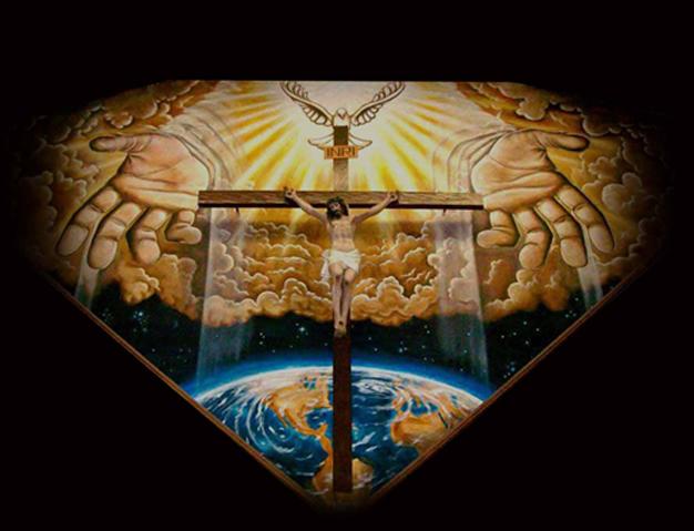 en-la-cruz-de-Jesús