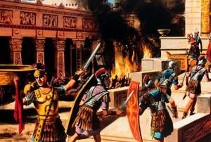 Caerá todo pero el fiel se mantendrá. San Lucas 21, 5-19.