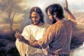 El bautismo del Señor. San Mateo 3, 13-17.