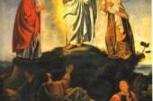 La transfiguración Mt 17, 1-9.