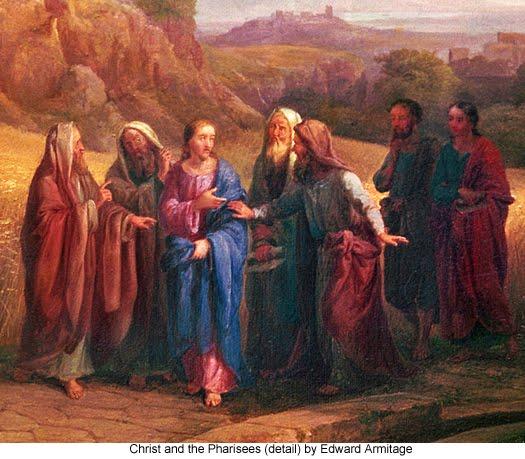 fariseos-con-jesus-oleo-en-rojo