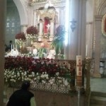 """Celebra la parroquia """"el Señor de la salud"""" su fiesta patronal."""
