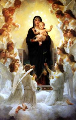 angeles-con-el-hijo-de-dios