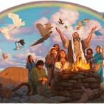 Del libro del Génesis 9,1-13. Jueves 16 de Febrero de 2017. Del Santísimo Nombre de Jesús.