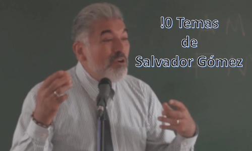 10 Temas de Salvador Gómez Yáñez predicador católico. Vol 1.