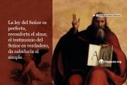 Salmo 18,8-9.1-15. Sábado 16 de Enero de 2021. Misa Votiva de Santa María de Guadalupe.