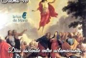 Salmo 46, 2-3.6-9. Sábado 23 de Enero de 2021. Por la Unidad de los Cristianos.