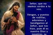 Salmo 94,6-11. Jueves 14 de Enero de 2021. Misa Votiva de la Sagrada Eucaristía.