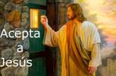 Acepta a Jesús. Kerigma, la buena nueva.