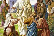 Evangelio San Mateo 20,17-28. Miércoles 3 de Marzo de 2021.