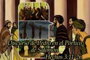 Del libro de los Hechos de los Apóstoles 3,11-26. Jueves 8 de Abril de 2021.