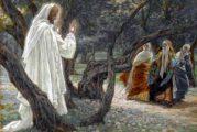 Evangelio San Mateo 28, 8-15. Lunes 5 de Abril de 2021.