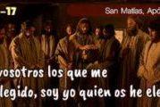 Evangelio San Juan 15, 9-17. Viernes 14 de Mayo de 2021. Fiesta de San Matías Apóstol.
