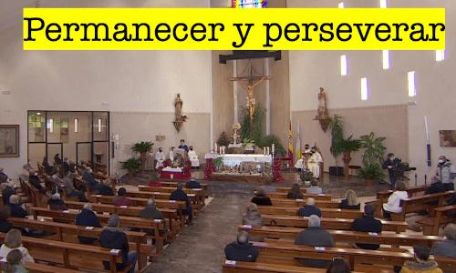 Permanecer y perseverar después del encuentro con Jesús. Kerigma.