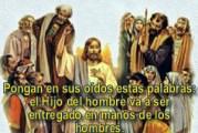 Evangelio San Lucas 9, 43-45. Sábado 25 de Septiembre de 2021. Misa de Santa María Virgen.