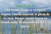 Salmo 48, 6-8.10.17-20. Viernes 17 de Septiembre de 2021. Misa por los Cristianos Perseguidos.