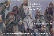 Evangelio San Lucas 9,18-22. Viernes 24 de Septiembre de 2021.  Nuestra Señora de la Merced.