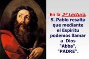 De la carta del Apóstol San Pablo a los Romanos 8,12-17. Lunes 25 de Octubre de 2021.  Misa por los Enfermos.