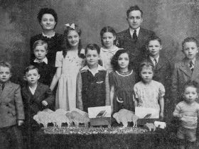 Dominic and Helen Defino, with children