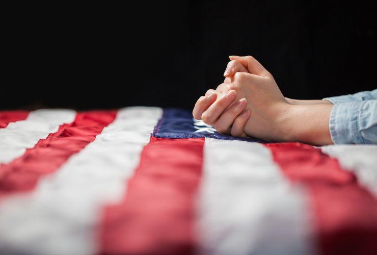 pray flag