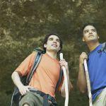 Youth hiking