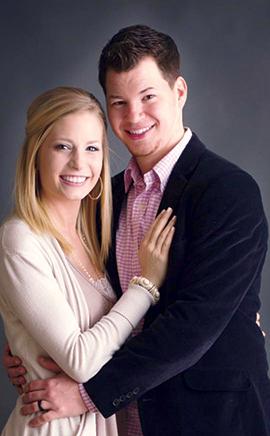 Matt and Blair Hartley