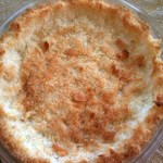 Coconut Pie Shell
