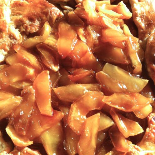 Caramelized Apple Gallette