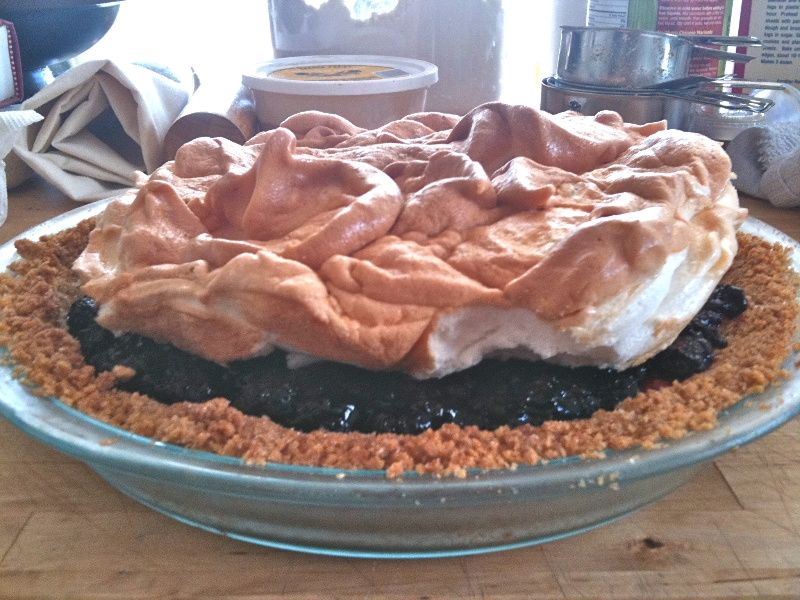 meringue pie, pie-a-day, kcrw
