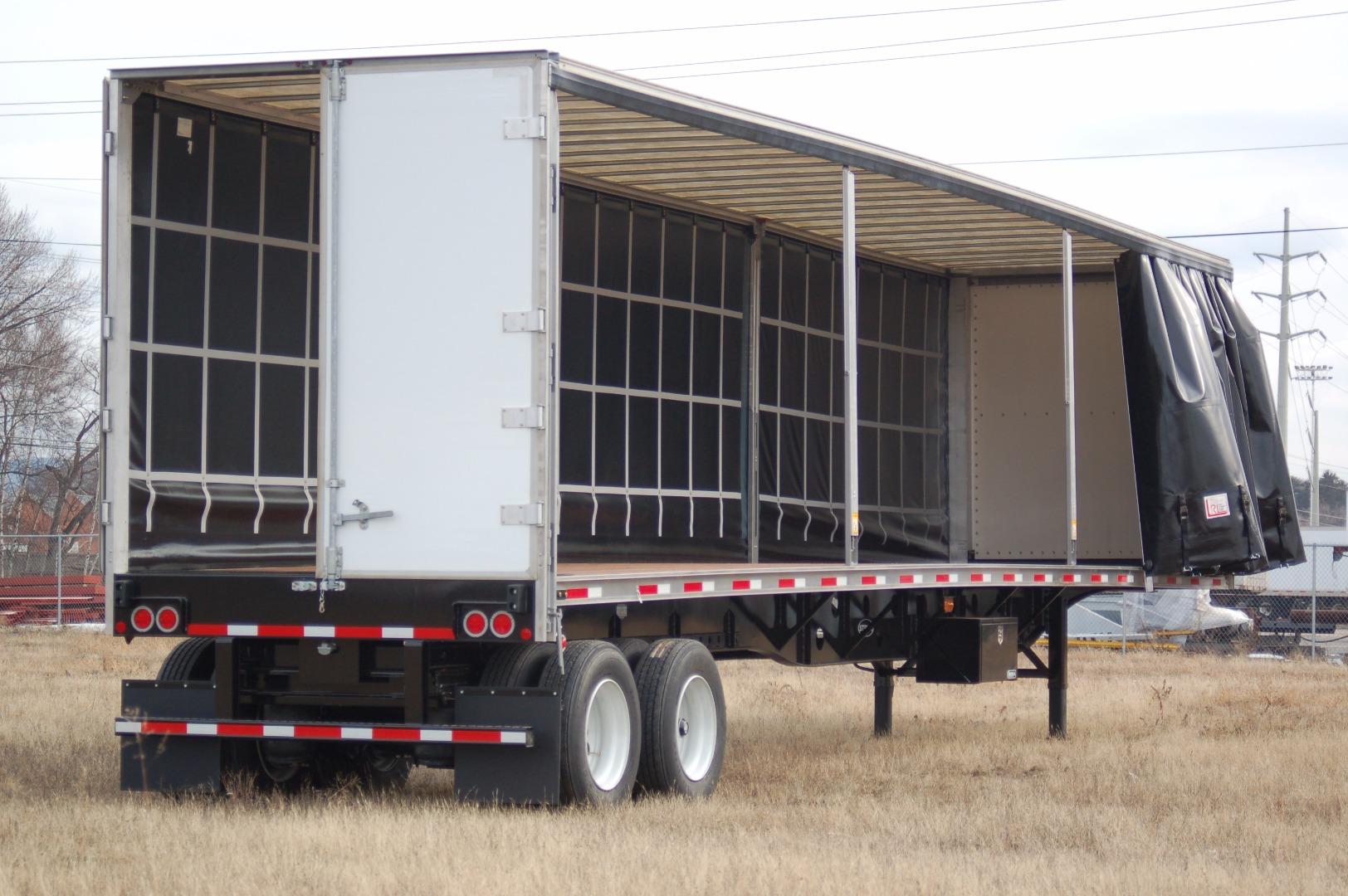 48 curtainside trailer