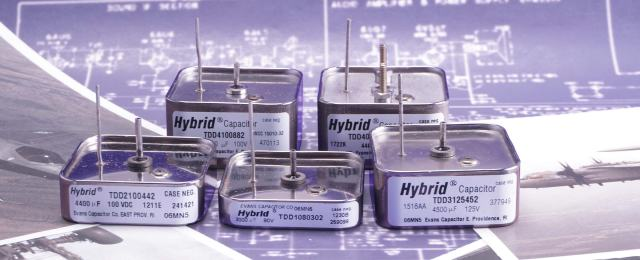 Evans Capacitor Company TDD Series Capacitors