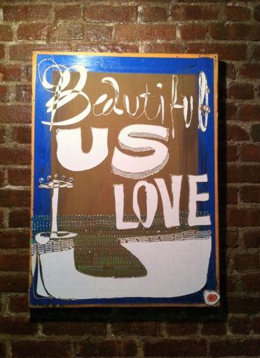 Beautiful US I LOVE U by Evan Silberman NYC