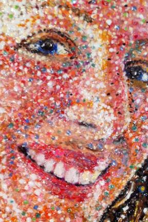 Detail from Mrs. T by Evan Silberman, 2009