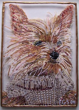 Pet Portrait - Minnie by E.G.Silberman, 2008