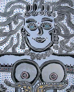 Blue Woman by Evan Silberman, 2006